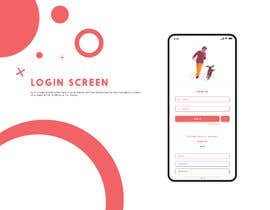 #24 for Design Login (home) app screen and theme for a Phone app af pagallarka8000