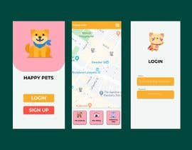 #5 for Design Login (home) app screen and theme for a Phone app af Simuratli