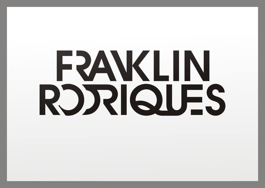 Kilpailutyö #                                        3                                      kilpailussa                                         Logo Design for dj franklin rodriques