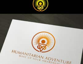 nº 52 pour LOGO representing 'waking up', 'awareness', 'knowledge' for humanitarian adventure par sbelogd