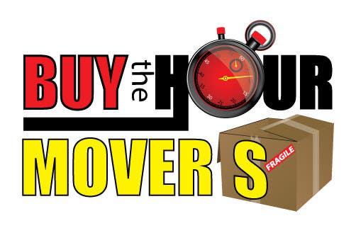 Kilpailutyö #65 kilpailussa Logo Design for BUY the Hour Movers