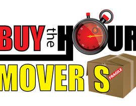 #65 para Logo Design for BUY the Hour Movers por tedatkinson123