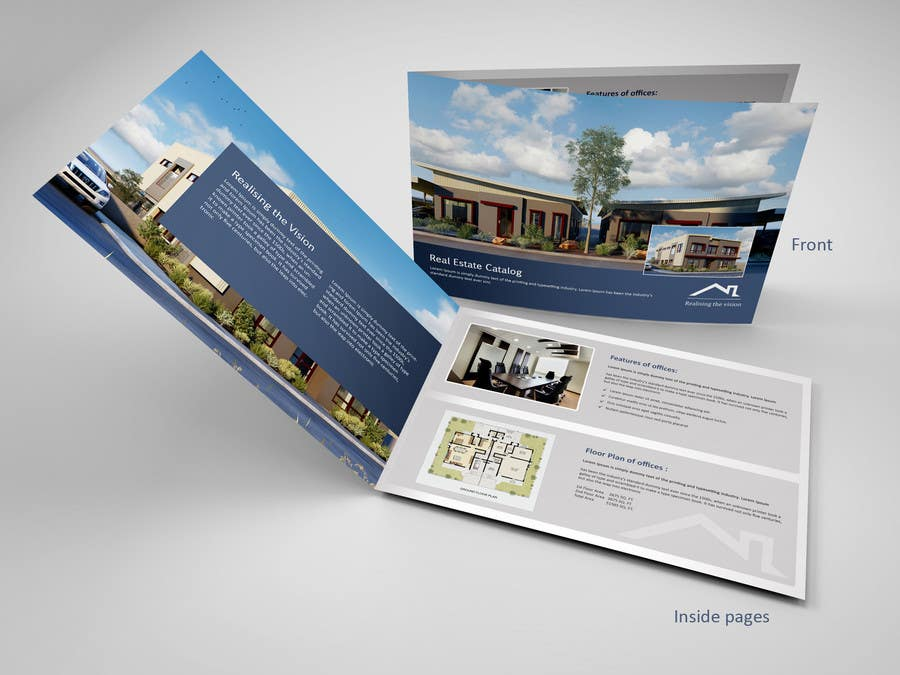 Entry #8 by mydZnecoz for Design a Brochure for Leasing a