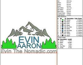 #38 untuk embroidery file from image oleh Logodigitizing