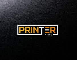 "#128 for Design Logo for my company ""printerking"" by fahim0007"