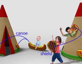 #19 cho Design for Children Role-Play Tent bởi PirkaStudio