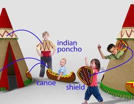 #22 cho Design for Children Role-Play Tent bởi PirkaStudio