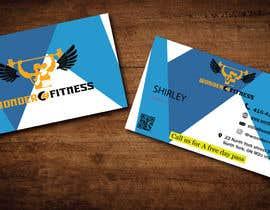 #741 untuk Design business card for a gym oleh ghourobbhowmik90