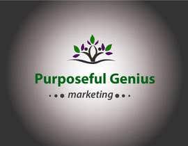Nro 43 kilpailuun Purposeful Genius Marketing Make A LOGO käyttäjältä mkhansamasroor