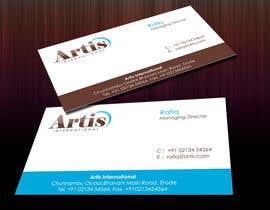 #46 para Logo and Business Card Design for Artis International por akshavi