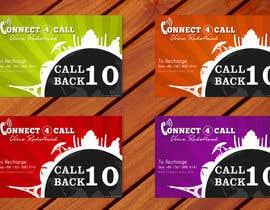 #28 untuk Graphic Design for Calling Cards 4 Different Denominations (Front & Back) oleh amitpadal