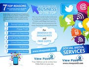 Contest Entry #5 for Tri-Fold Brochure Design for Social Media Marketing Sevices