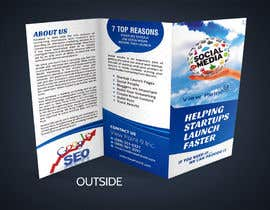nº 9 pour Tri-Fold Brochure Design for Social Media Marketing Sevices par Jabinhossain