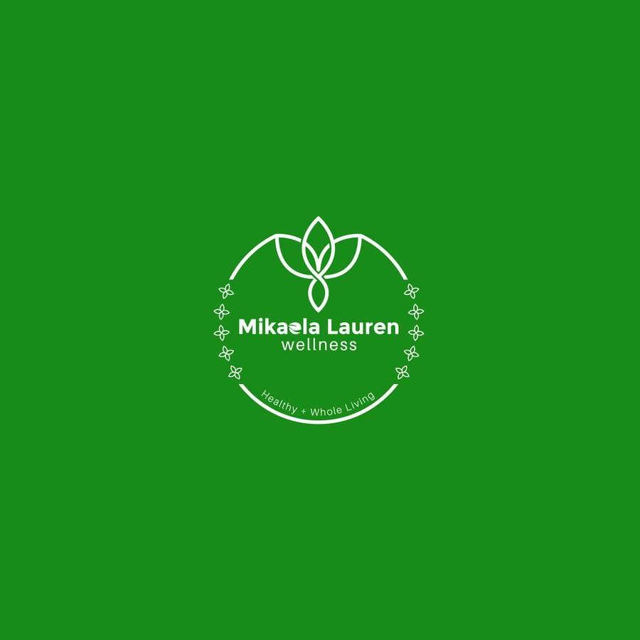"""Konkurrenceindlæg #                                        450                                      for                                         Logo for """"Mikaela Lauren Wellness"""""""