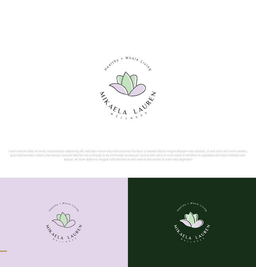 """Konkurrenceindlæg #                                        526                                      for                                         Logo for """"Mikaela Lauren Wellness"""""""