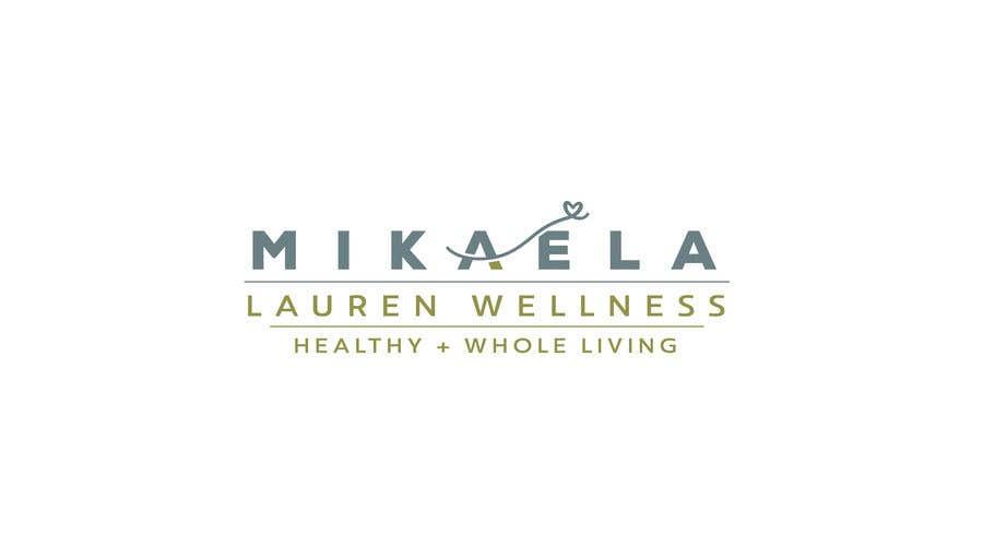 """Konkurrenceindlæg #                                        411                                      for                                         Logo for """"Mikaela Lauren Wellness"""""""