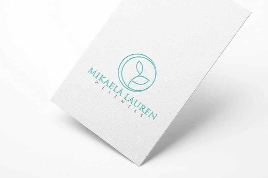 """Konkurrenceindlæg #                                        504                                      for                                         Logo for """"Mikaela Lauren Wellness"""""""