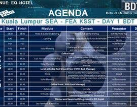#50 for Meeting event Agenda designing by AkS0409