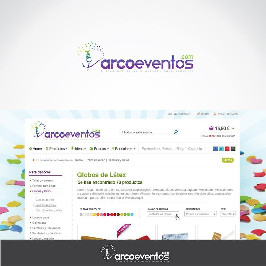 Kilpailutyö #                                        62                                      kilpailussa                                         Logo Design for ArcoEventos.com