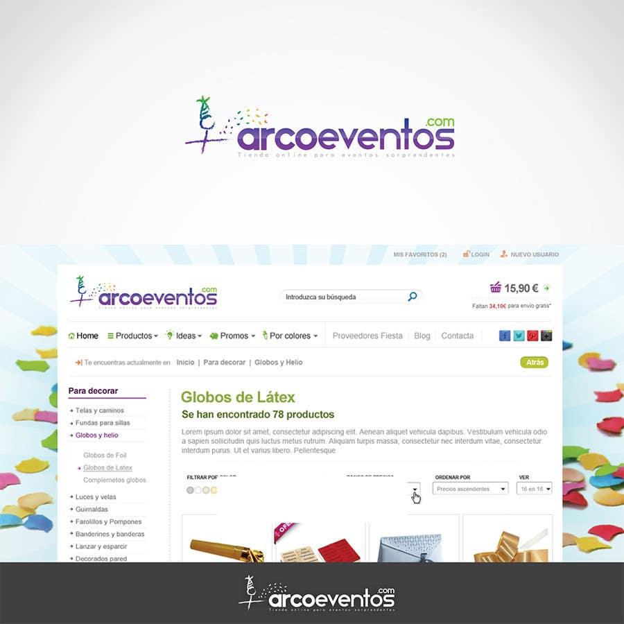 Proposition n°65 du concours Logo Design for ArcoEventos.com