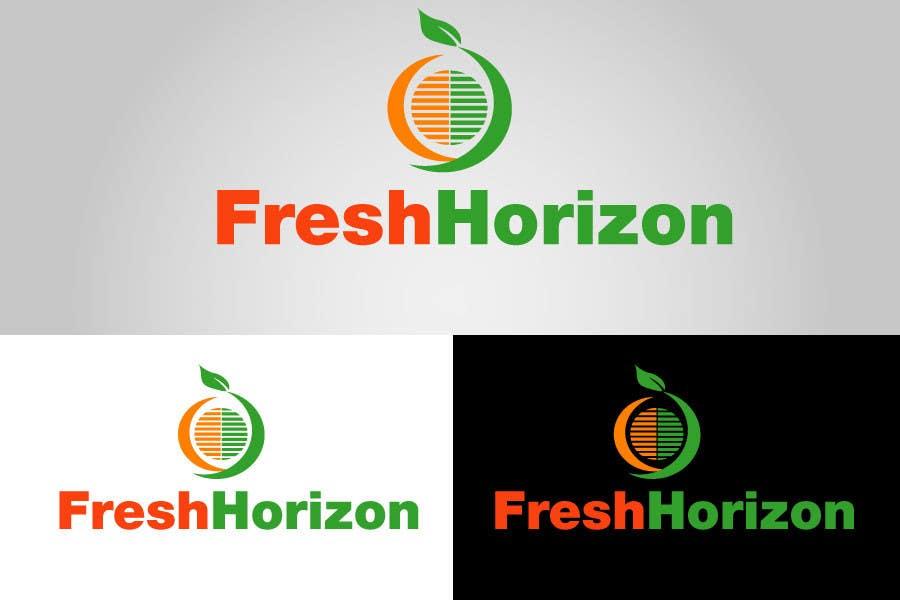 Inscrição nº 16 do Concurso para Logo Design for nutritional products called Fresh Horizon