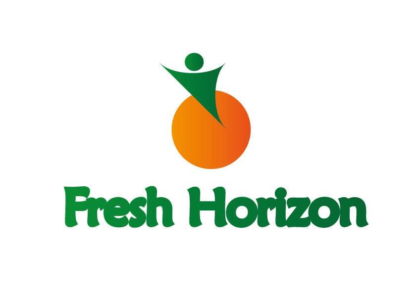 Inscrição nº 4 do Concurso para Logo Design for nutritional products called Fresh Horizon
