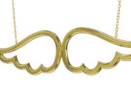 #48 for Create 3D design of Angel Wings Pendant to print with Shapeways af devswarnakar