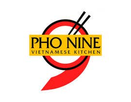 "#69 for Design a Logo for a Vietnamese Kitchen Restaurant ""Pho Nine"" by Chaddict"