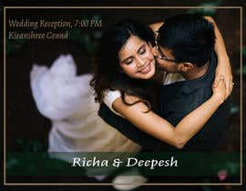 #77 untuk Build invites for wedding oleh diptakdutta