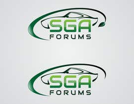 #39 untuk Logo Design for SGA Forums Automotive Site oleh HammyHS