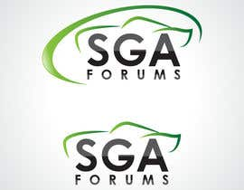 #48 untuk Logo Design for SGA Forums Automotive Site oleh HammyHS