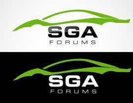 #33 untuk Logo Design for SGA Forums Automotive Site oleh blitzguru
