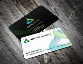#40 for Business Card Design for SEOWeb Solutions by ezesol