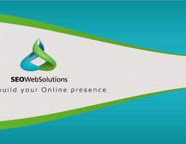 nº 34 pour Business Card Design for SEOWeb Solutions par thewolfmenrock