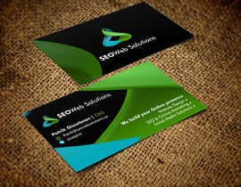 #29 for Business Card Design for SEOWeb Solutions by rajajane