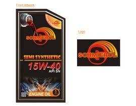 #264 untuk SCHMIERÖL Engine Oil Logo + grade artwork oleh sudhirmp