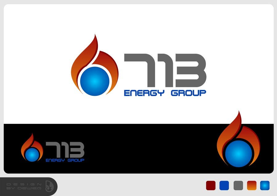 #169 for Complete Make Over, Logo, Website, Brochures, Flyers.  Start w/Logo,  713 Energy Group by Dewieq