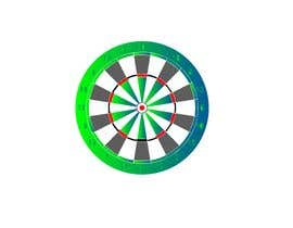 #3 for Create vector image of a custom dart board. by beauty222
