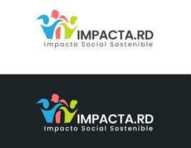 """#22 para Logo design for """"IMPACTA.RD"""" de davincho1974"""