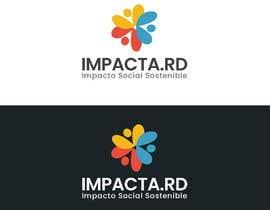 """#23 para Logo design for """"IMPACTA.RD"""" de davincho1974"""