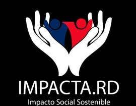 """#32 para Logo design for """"IMPACTA.RD"""" de Xiyneb"""
