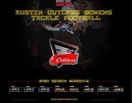 #28 for Womens Tackle Football Season Schedule by DESIGNERpro11