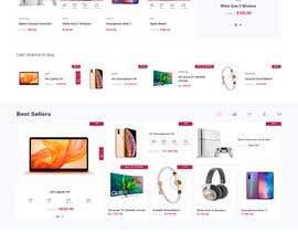 #32 για E-Commerce Landing Page design από saira4272