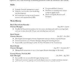 #23 for re do my resume by aronee19