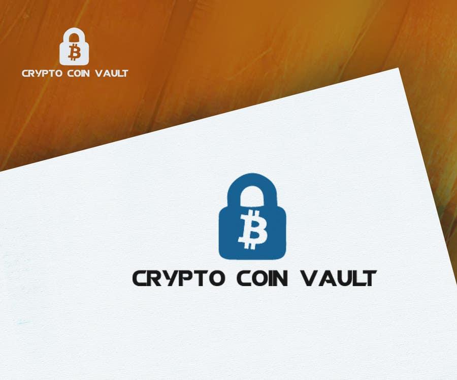 Bài tham dự cuộc thi #                                        19                                      cho                                         Design a Logo for Crypto Coin Vault