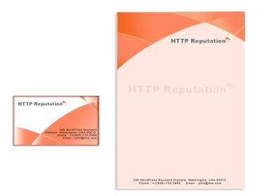 Graphic Design Contest Entry #28 for Business Card and letter head Design for httpreputation