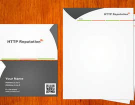 #11 untuk Business Card and letter head Design for httpreputation oleh amitpadal