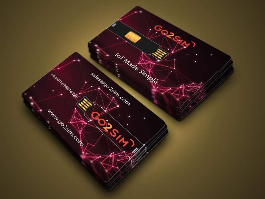 Bài tham dự cuộc thi #26 cho USB Card card artwork design