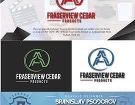 #184 para Fraserview cedar Logo por bpsodorov