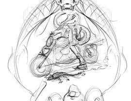 #9 untuk Re-draw a logo Character oleh GadEhab1